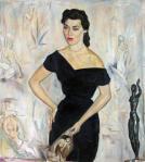 Retrato de Maria Jose Cardoso - 1956
