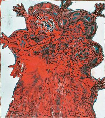 Quadro feito por Karin Lambrecht (Porto Alegre- 1985)